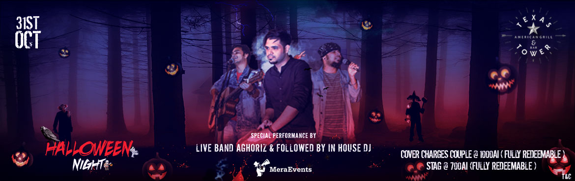 Book Online Tickets for Halloween Party 2019 V-1.0, Pune. Celebrating Halloween Night, 3 PC - Live Band – by Aghoriz & More. - Rapper & Live Vocals  Terms and conditions:  Admissions – 18+, Alcohol Served – 21+ Rights of Admission will be reserved by Management