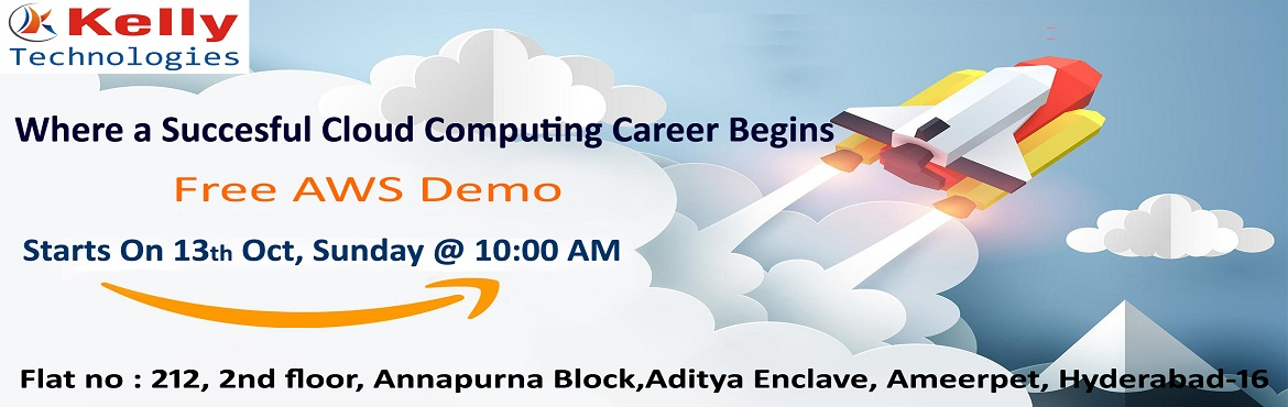Book Online Tickets for AWS professional journey to becoming hig, Hyderabad. Kelly Technologies is about to conduct a free workshop on AWS attended by the highly skilled experts to create awareness among the youth regarding the prominence of AWS in the present generation and the multiple benefiting factors it offers lik