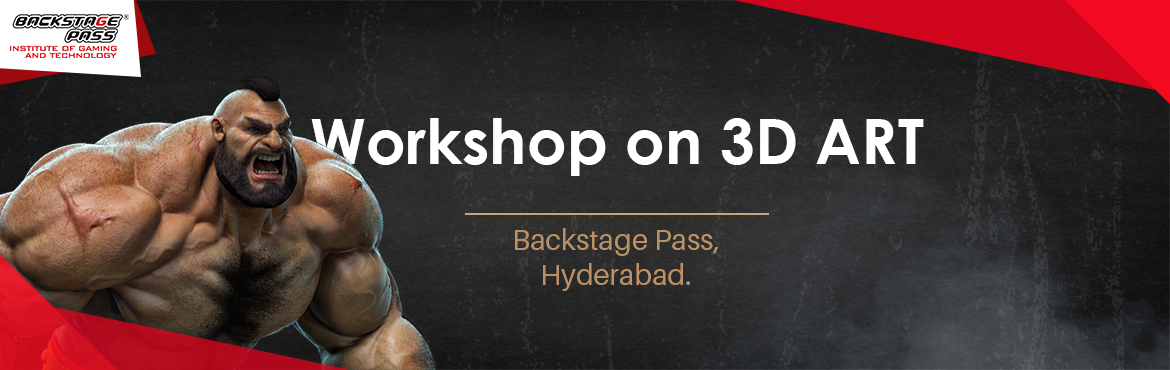 Book Online Tickets for 3D ART WORKSHOP, Hyderabad. Mostawaited workshop among the aspiring game artists- Backstage Pass, Hyderabad brings you the best in the industry mentor-Benny Francis- for a workshop on 3D ART to Madhapur, Hyderabad. Come join us for an insightful session on 3D Art for game