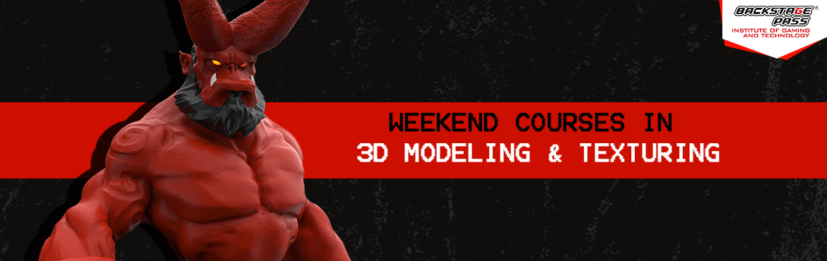 Book Online Tickets for 3D MODELING and TEXTURING , Bengaluru. Make the most out of your weekends now! Backstage Pass announces new weekend batches in 3D Modelling and Texturing in AAA games from Nov2.Get trained by mentors with over 7years ofexperience inmore than 16 gaming p