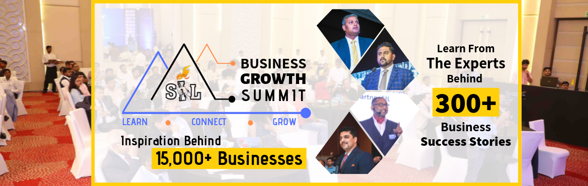 Book Online Tickets for Business Growth Summit - How to Deal wit, New Delhi. Is Your Business Growth Hit By The Slowdown? And you have tried all that you could have done?  Here is an opportunity to get yourself and your business back on track.  _____________________________________________________________________ At