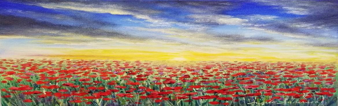 Book Online Tickets for Paint the Poppies: Palette Knife Paintin, Hyderabad.
