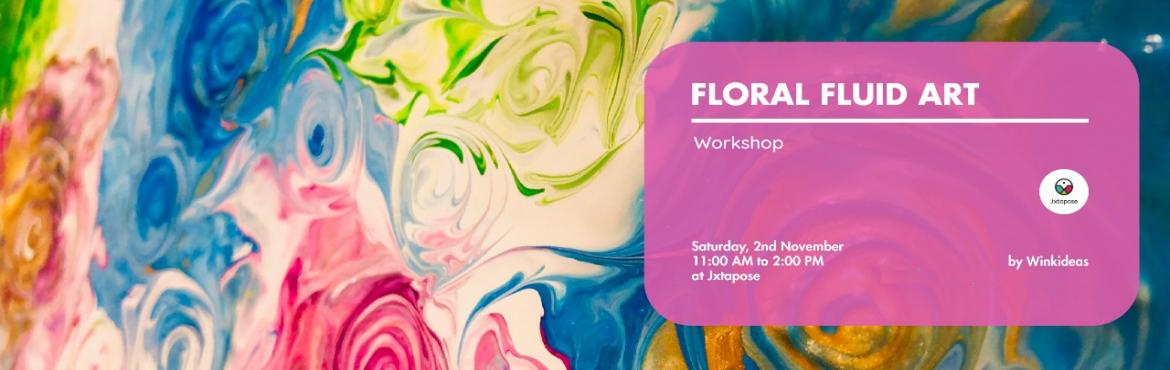 Book Online Tickets for Floral Fluid Art, Hyderabad. Winkideas by Chaitali Furia now brings to you the most trending and colourful Fluid Art .. but with a difference - FLORAL FLUID ART.In this session we will be combining the technique of acrylic pour/ liquid pour with another technique to make t