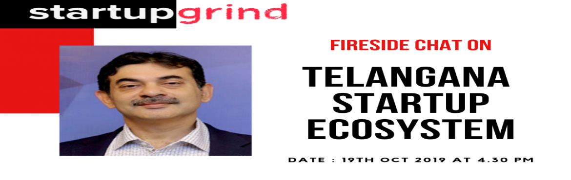 Book Online Tickets for Fireside chat with Mr. Jayesh Ranjan, Pr, Hyderabad. Fireside chat with Mr. Jayesh Ranjan, Principal Secretary of the Industries & Commerce (I&C) and Information Technology (IT) Departments of the Telangana government. What to expect from the event:1. A detailed discussion on the landscap