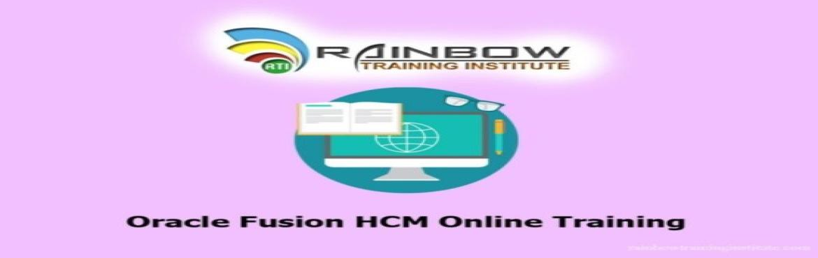 Book Online Tickets for Which is the Best Institute for Oracle F, Hyderabad. Rainbow Training Institute is the perfect place to learn Oracle Fusion HCM Online Training and many more Fusion Courses. It provides complete corporate level coaching for each online and classroom training from the expert trainers in Hyderabad,