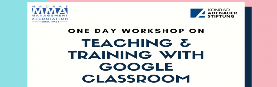 Book Online Tickets for Teaching and Training with Google Classr, Chennai. Overview: Google Classroom makes it easy for instructors and learners to connect—inside and outside of the educational institution. Implementing google Classroom saves time and paper, and makes it easy to create classes, distribute assignments,
