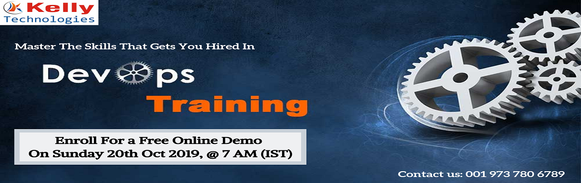 Book Online Tickets for Take a Part in Free Demo on DevOps Techn, Hyderabad. Take a Part in Free Demo on DevOps Technology On 20th Oct at 7AMIST Most of the companies are rapidly adopting DevOps technology to take their development into next advanced level. DevOps is the high rapidly increasing technology which is the k