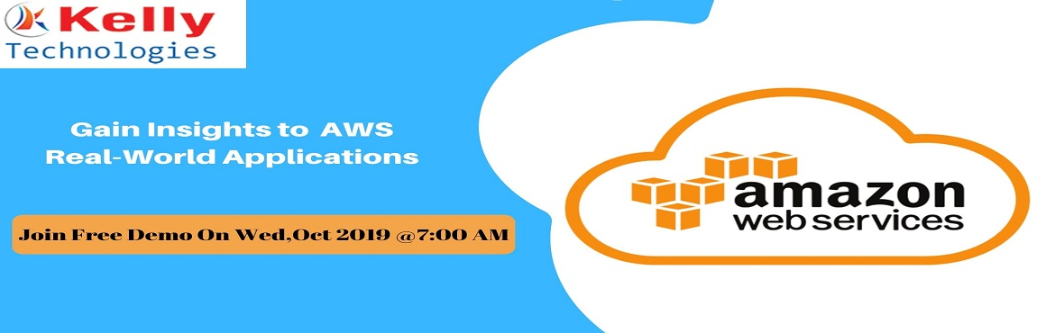 Book Online Tickets for Book Your Seat For Free AWS Demo Session, Hyderabad. Amazon Web Services is considered a comprehensive evolving cloud computing platform where it sometimes called remote computing services. A million numbers of people are active in using Amazon Web Services (AWS) to perform faster, scalable appli
