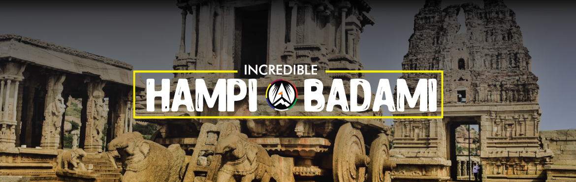 Book Online Tickets for Incredible Hampi and Badami, Pune. Journey across Karnataka & explore the heritage towns of Hampi Badami, Pattadkal, Ahihole that feature the rustic yet magnificent ruins of ancient civilizations. Do not miss the chance to witness \'Taj Mahal of Deccan\' and the many sites worthy