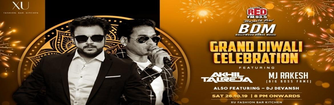Book Online Tickets for Saturday Grand Diwali Party at XU-Hotel , Bengaluru. Saturday Grand Diwali Party at XU-Hotel Leela Palace Experience the amazing party in a Desi waySaturday Grand Diwali Party at XU-Hotel Leela Palace witness the craziest Bollywood Night of the town featuring famous DJ Akhil Tajreja x MJ Rakesh (Big Bo