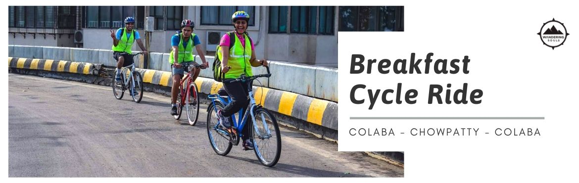 Book Online Tickets for Breakfast Cycle Ride, Mumbai. Ride through the empty streets of South Bombay on a lazy Sunday morning and explore the various monuments and heritage sites with the ride ending with breakfast at one of the iconic restaurants of Mumbai in Colaba.  Anybody, who recalls M