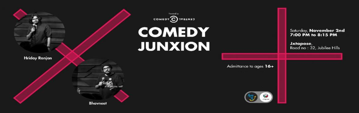 Book Online Tickets for Comedy Junxion, Hyderabad. Join us at Jxtapose, a locus for creative artists of Hyderabad, on Saturday, November 2nd for Comedy Junxion: a night of jokes and laughs with the most hilarious standup comedians in the twin cities. This month we have hilarious Sardar from Secundera