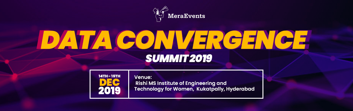 Book Online Tickets for DATA CONVERGENCE SUMMIT, Hyderabad. DATA CONVERGENCE SUMMIT (DCS) is a flagship summit of DIGIOTAI solutions inc., focusing on CONVERGENCE of emerging technologies. Having built the world\'s first pilots on IoT, ML, AI we know that siloed approach might not be enough to solve the real