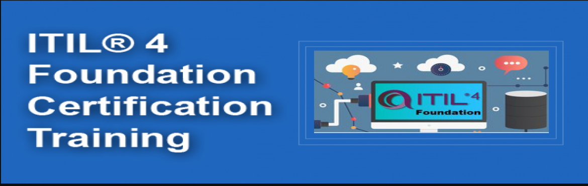 Book Online Tickets for ITIL 4 Foundation Certification Training, Bangalore. About the Course The ITIL 4 Foundation course introduces candidates to the management of modern IT-enabled services, to provide them with an understanding of the common language and key concepts, and to show them how they can improve their work and t
