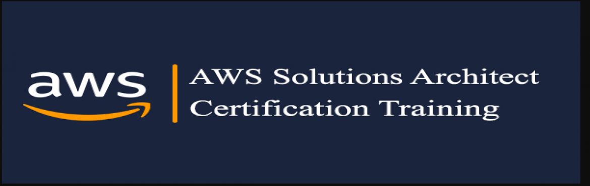 Book Online Tickets for AWS Solutions Architect Certification Tr, Bangalore. About the Course Objective: The course will provide the participants a good start on how to use the cloud infrastructure using AWS.It will give a practical usage of key concepts like launching servers in AWS, load balancing, auto scaling, launc