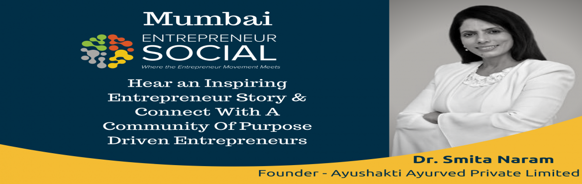 Book Online Tickets for Entrepreneur Social - Mumbai , Mumbai. Mumbai Entrepreneur Social Date : 13th December, FridayTime : 5:00 to 7:00 pm Venue : Peninsula Business Park, Ganpatrao Kadam Marg, Lower Parel, Mumbai, Maharashtra 400013. Entrepreneur Social is a monthly networking event bringing like-minded, purp