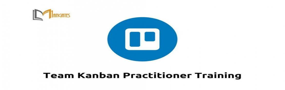 Book Online Tickets for Team Kanban Practitioner Training in Hyd, Hyderabad. Course Description: The Team Kanban Practitioner class teaches the basics of the Kanban Method, a methodology for teams to reduce waste in current processes and optimize workflows. During this 1-day class, each participant will: ●