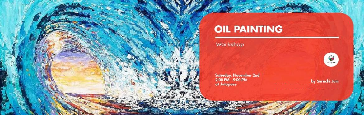 Book Online Tickets for Oil Painting workshop, Hyderabad. Join us for an amazing experience of painting in style You will learn a way to do rapid, spontaneous, short, loose brush strokes, usage of opaque paint mixed optically on canvas and use of bright color and mix less on palette One will also get to do