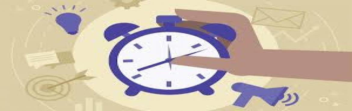 """Book Online Tickets for EFFECTIVE TIME MANAGEMENT, Bengaluru. """"Managing Your Time without setting priorities is like shooting randomly and calling whatever you hit is the target """" Individuals need effective time-management skills to succeed today. Regardless of the position in an organization, succe"""