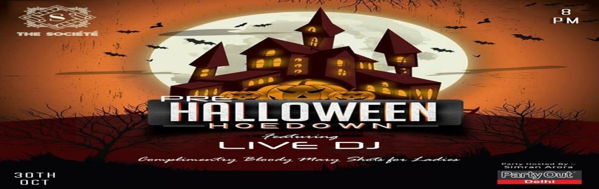 Book Online Tickets for Pre Halloween Hoedown By Party Out Delhi, Gurugram. Pre Halloween Hoedown By Party Out Delhi Hey ! It\'s The Halloween Eve !We At Party Out Delhi Know How Much You All Love Us ! So Here\'s Bringing You Meet \'n\' Greet With Wine \'n\' Dine This Wednesday At An Elite Property In Sohna Road !!!So Say He