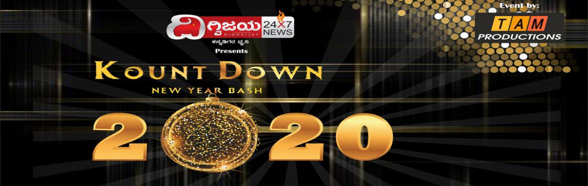 Book Online Tickets for KOUNT DOWN 2019 - NEW YEAR BASH, Bengaluru. It is that time of the year again! Let's get together and bid farewell to 2019 and welcome 2020 with lots of joy and fun!! Go ahead and book your tickets for the biggest ever New Year party ever held @ Namma Bengaluru. By biggest, we literally