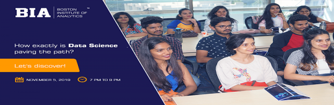 Book Online Tickets for Free Analytics Seminar , Mumbai. Here\'s your chance to dig deeper into the fundamentals of Analytics!Join us for a free seminar by industry experts on Tuesday, November 5, 2019, and take your first step exploring the world of Analytics, Artificial Intelligence and Machine Learning.