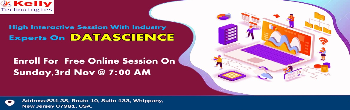 Book Online Tickets for Free Data Science Online Demo Session By, Newark. Attend Free Data Science Workshop To Kick Start Your Analytics Career In 2019-By Analytics Path On 3rd Nov 2019 @ 7 AM (IST) About The Workshop:  By now everyone must be well aware of the fact that data can be used in simultaneously in many ways that