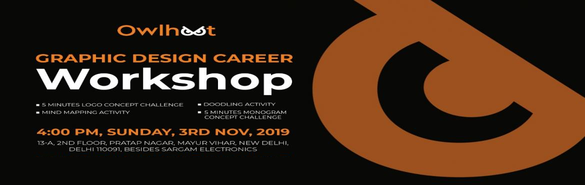 """Book Online Tickets for Graphic Design Career Workshop, New Delhi. """"Creativity is contagious, pass it on"""" -Albert Einstein WHAT TOPICS COLLEGES & INSTITUTES WILL NEVER GONNA TOUCH? WHY THEY DON'T TEACH US THOSE TOPICS? & HOW TO LEARN THEM WITH OUR GUIDANCE? The answers are in this wor"""
