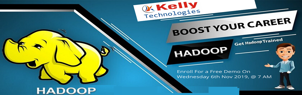 Book Online Tickets for Register For Free Interactive Hadoop Onl, Hyderabad. About The Demo: In today's competitive world, one of the biggest challenges in the large corporations is to store, manage and process a high volume of data. Hadoop Expertise can only solve all the business issues to face challenges to enhance b