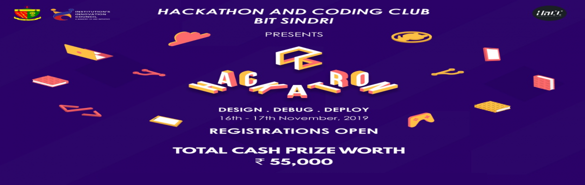 Book Online Tickets for HACKATRON, Sindri. Hackathon and Coding Club (formerly The Developer\'s Society), the official coding club of B.I.T. Sindri, Dhanbad is all set to organize its mega event 'HACKATRON', a technology-driven hackathon in which participants are required to prese