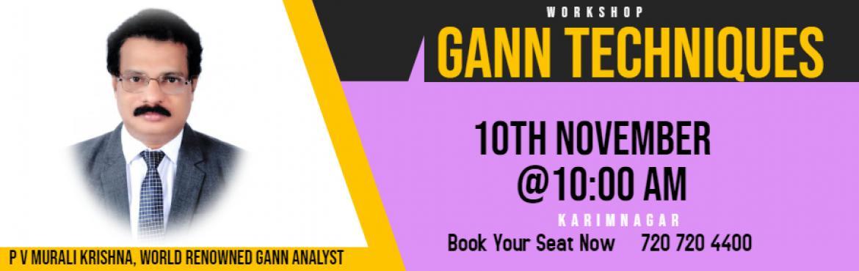 Book Online Tickets for Trade With GANN Indicator, Karimnagar.