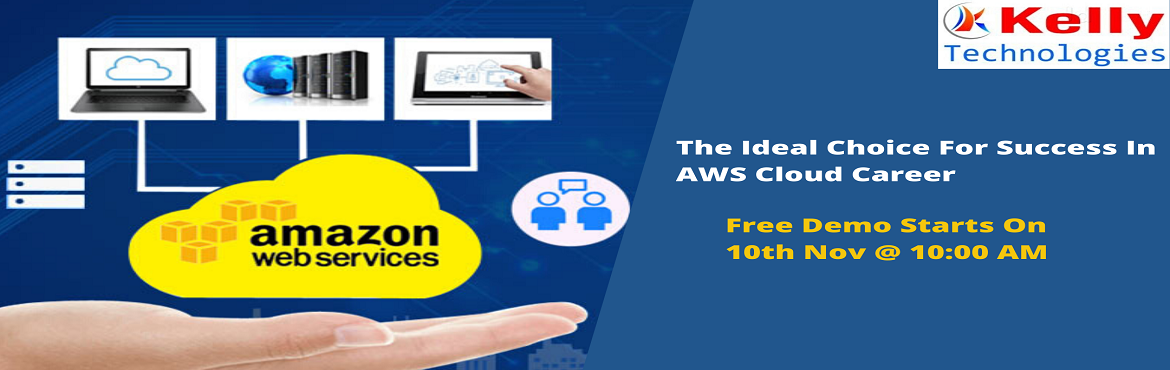 Book Online Tickets for Reserve Your Seat For AWS Free Demo Sess, Hyderabad. AWS Training In Hyderabad from Kelly Technologies is providing the best offers with the amazing teaching techniques to make the people professionally well-skilled. So that they can be successful in reaching their career path. This would make an aspir