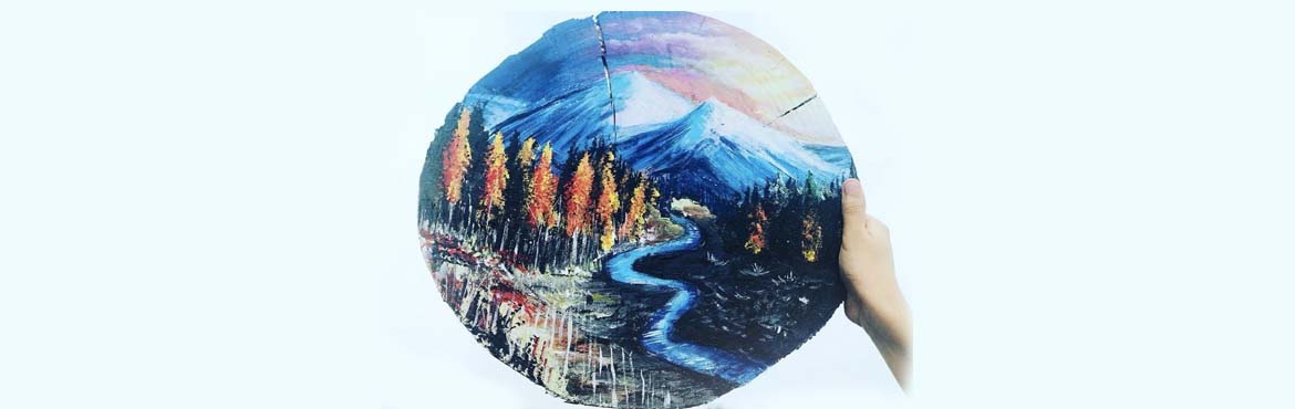 Book Online Tickets for Landscape on Wood Workshop by Handmade T, Hyderabad. Have you ever wanted to learn how to paint a landscape from nature ? Nurture your artistic talent by learning the basics of landscape painting using acrylic paints on Wood. Learn the fundamentals of composition, painting sequence and layering techniq