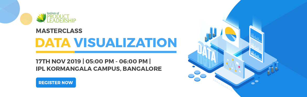 Book Online Tickets for MASTERCLASS: Data Visualization and Visu, Bengaluru. The Art of showing data in a visual context & applying the presentation science to show it in the right format is Data Visualization. In this day and age of data, the ability to craft a compelling story using data is a critical skill that ev