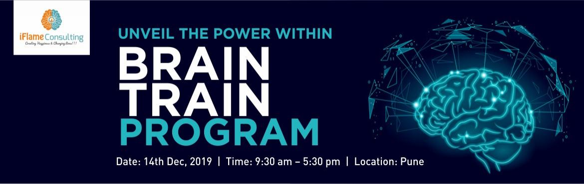 Book Online Tickets for Brain Train Program with Ridhima Dua- Ba, Pune. About The Event  In this one-day introductory workshop, you will learn the basics of Neuro-Linguistic Programming. We provide you with the tools to manage your thoughts, and thereby manage yourself. Course Outline  An introduction to NLP Presup