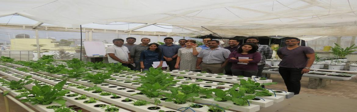 Book Online Tickets for Aquaponics and Hydroponics workshop, Bengaluru. About The Event  The workshop delves deeper into the mechanics of Aquaponics & Hydroponics systems, plant, and fish nutrition requirements, water, and nutrient parameters, parameters to achieve commercial success in Hydroponics. Course atte