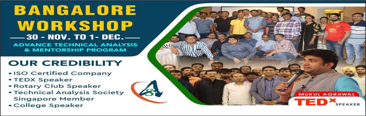 Book Online Tickets for Join Our Technical Analysis Courses Work, Bangalore. The stock market is that place where we directly involved or not but as a consumer we all indirectly involved. A large percentage of the Indian economy is depending on the stock market. And being an Indian it's our responsibility to understand