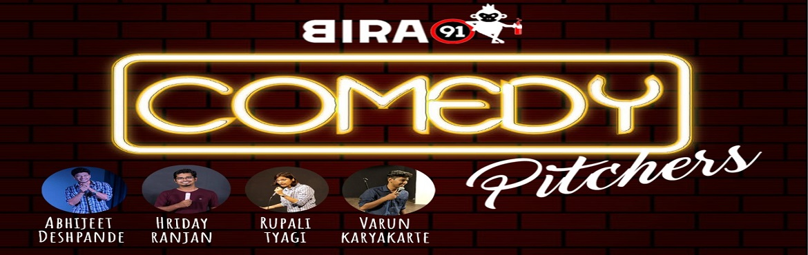 Book Online Tickets for Comedy Pitchers, Hyderabad. Hey,congrats, you have successfully navigated yourselves to one of the most hilarious Saturday nights of your life. Like our jokes? Laugh. Don\'t you like our jokes? Drink then laugh. Panzer Events in association with Truffle Tower and Depicts.