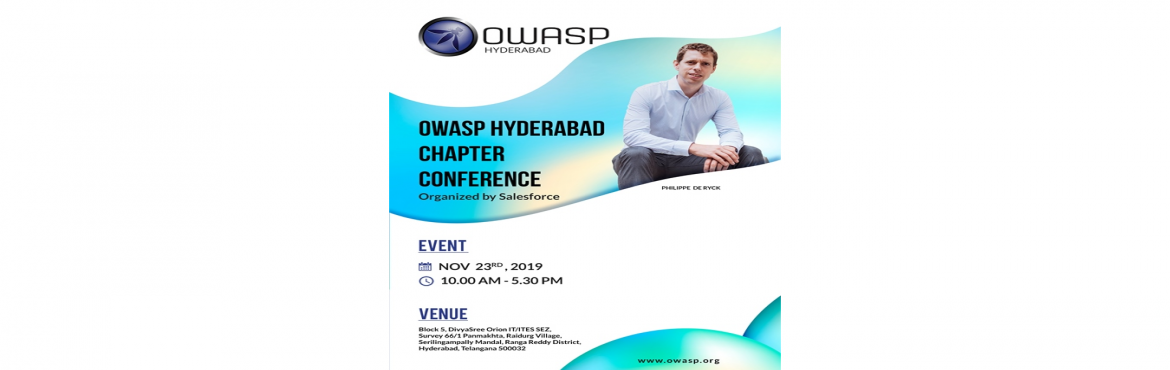 Book Online Tickets for OWASP One Day Workshop by OWASP Hyderaba, Hyderabad. OWASP Hyderabad Chapter is part of OWASP Foundation. OWASP Local Chapter meetings are free and open. Our chapter\'s meetings are informal and encourage open discussion of all aspects of application security. Anyone in our area interested in web