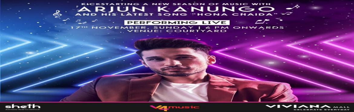 Book Online Tickets for Arjun Kanungo to perform in Viviana Mall, Thane. Music-loving Mumbaikars, mark your calendars to witness Arjun Kanungo perform live on one platform in the city on November 17, 2019. Kanungo, who gained popularity with numbers like \