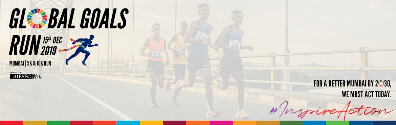 Book Online Tickets for Global Goals Run 2019 - Mumbai, Mumbai. \