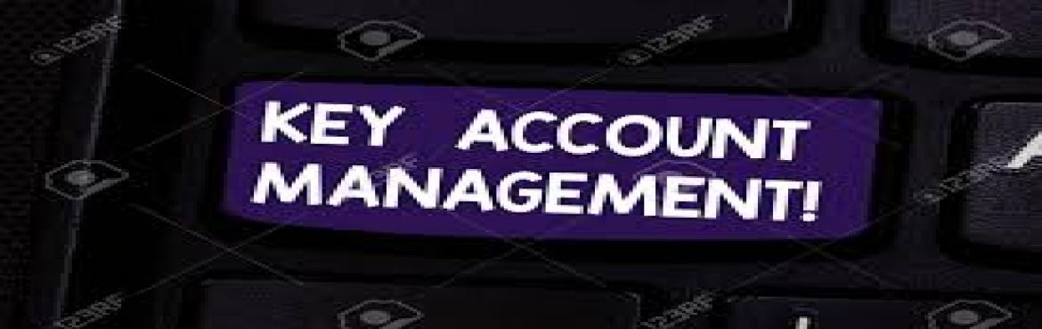 Book Online Tickets for Key Account Management Training, Bengaluru. Key accounts are not only yourmost valued clientele, but are also the accounts most likelytargetedby your competition. Therefore, it is of significant importance to continuously advance one's skills in developing and managing