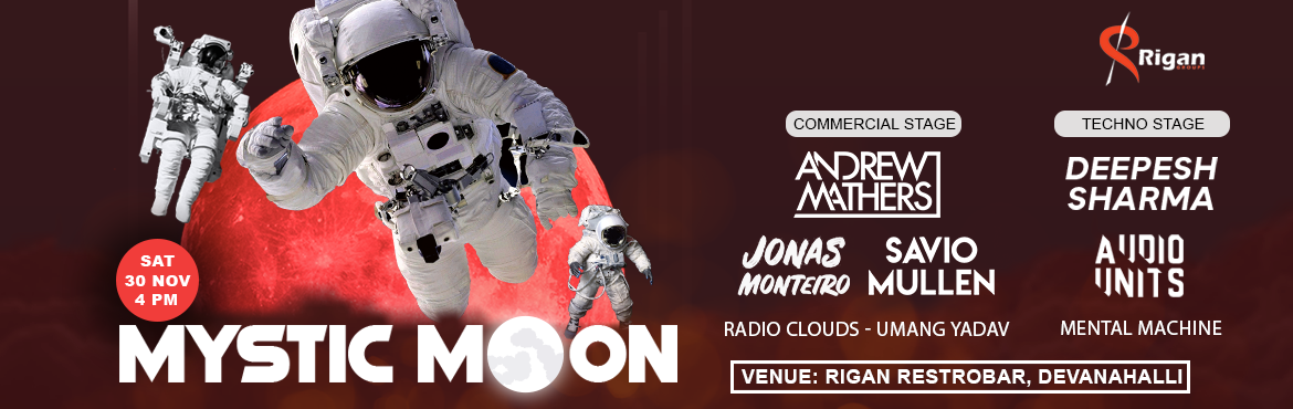 Book Online Tickets for Mystic Moon Festival 2019 - Bangalore, Bengaluru.  Mystic Moon Festival 2019 - Bangalore Bangalore get ready for the stellar party experience at \