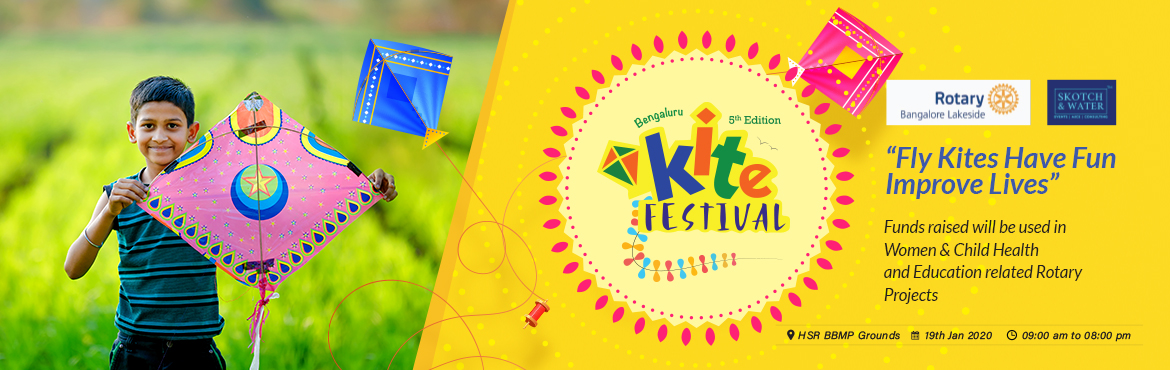 Book Online Tickets for Bengaluru Kite Festival - 2020, Bengaluru. Bengaluru Kite Festival 2020 is a family event full of fun, food, live music, Special Kite Show, India\'s largest inflatable trail with 200+ obstacles and joy of kite flying! After the grand success of previous years, this event will be bigger a