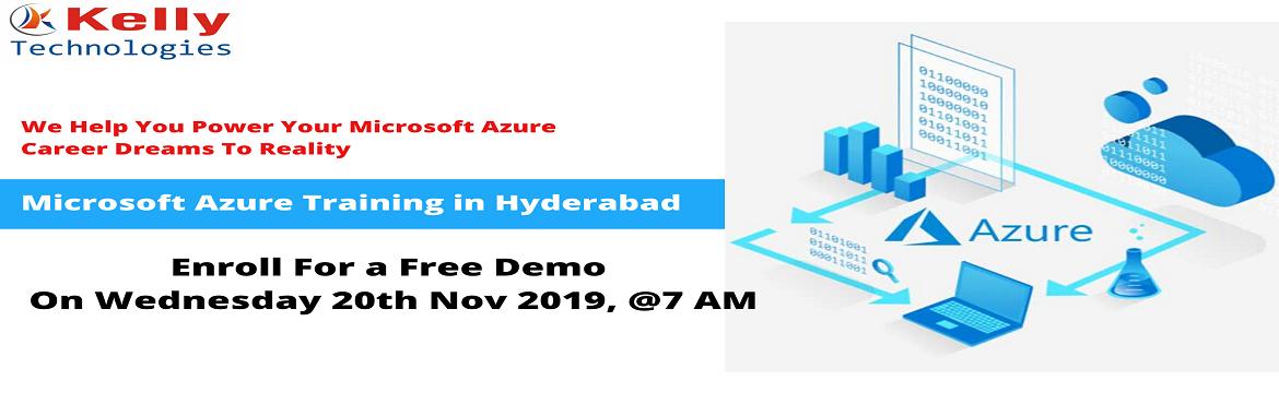 Book Online Tickets for Attend Free Microsoft Azure Demo Session, Hyderabad. About The Event: Microsoft Azure is one among the most exclusively used platform for the on-demand cloud computing applications. Azure is well capable of performing its applications in both Platform as a service (PAAS) and Infrastructure as a service