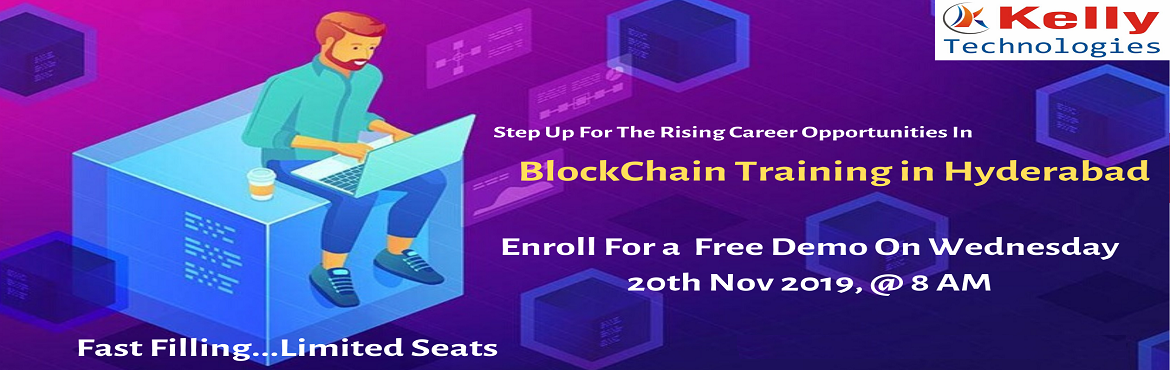 Book Online Tickets for Free Demo Program on Blockchain Demo On , Hyderabad. About The Demo: The Blockchain is the distributed database technology of public ledger of transactions that maintains the continuous growing list of records named as blocks. The blockchain is the technology which is underpinning the Bitcoin Virtual c