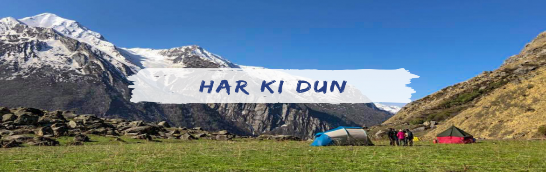 Book Online Tickets for Har Ki Dun Trek, Sankari Ra. Highlights of Har Ki Dun Trek  Har ki dun is graded as an easy trek, best for initial level hikers, adventurer & avid nature enthusiastic with good fitness. Har Ki Dun trek is located at the foothill of the Swaragarohini peak. Har ki Dun offers r