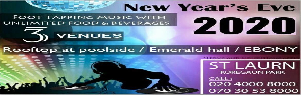 Book Online Tickets for EMERALD- NYE 2020 at ST LAURN HOTEL, KP,, Pune. DJ Music at poolside Music to Dance Gala Lavish Unlimited food and Beverages Alcohol Complementary food for below 3 years children Tattoos Gift Voucher Valet Parking Terms & Conditions Apply, As per the Government Rules Highlights Entry to P