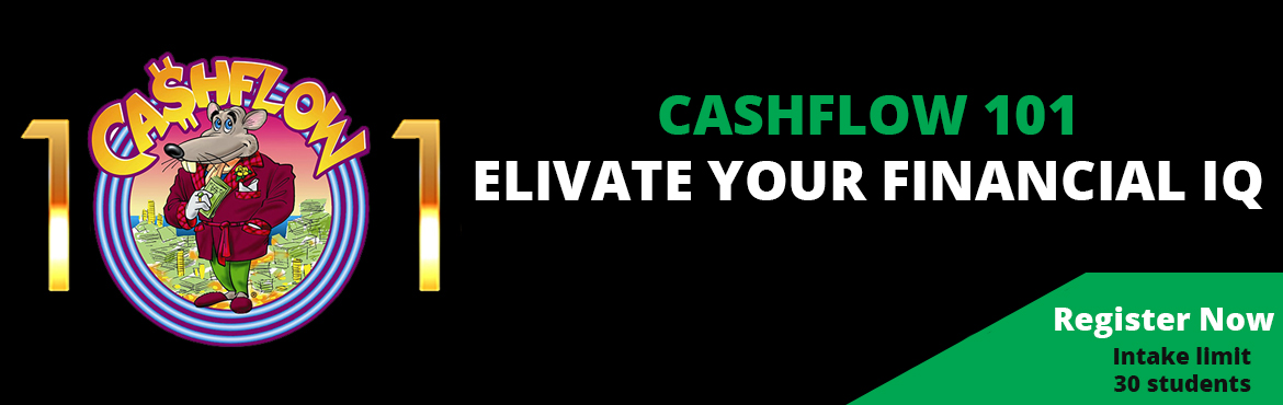 Book Online Tickets for Cashflow 101 - GET OUT OF THE RAT RACE , Bengaluru.  Elevate Your Finacial IQ We all have money problems. Kids, students, adults, families, businesses and governments have money problems. Even the rich have money problems. How well we do in life depends upon how well we handle our money problems