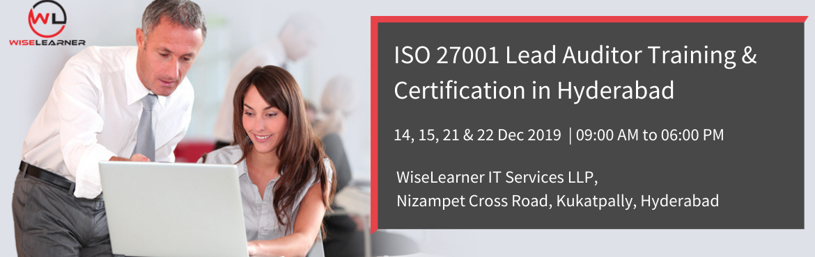 Book Online Tickets for Best Training and Certification for ISO , Hyderabad. OVERVIEW This training enables participants to develop the expertise needed to audit an Information Security Management System (ISMS) and to manage a team of auditors by applying widely recognized audit principles, procedures and techniques. Du